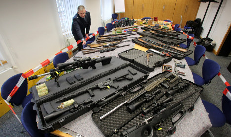Huge weapons stash seized from anti-state extremists