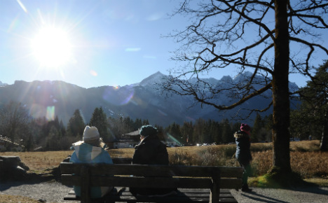 Where in Germany you can soak up the most winter rays