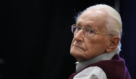 Court upholds conviction for 'Bookkeeper of Auschwitz'