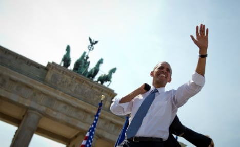 Berlin police enforce tight security ahead of Obama visit