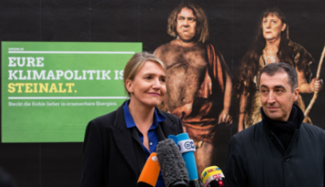 Greens torn on whether to back or fight Merkel