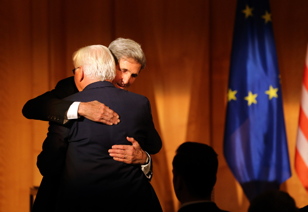 John Kerry in Berlin: 'we are going to be OK'