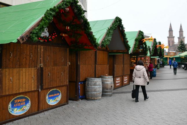 12-year-old attempted to bomb Christmas market in south Germany: prosecutors