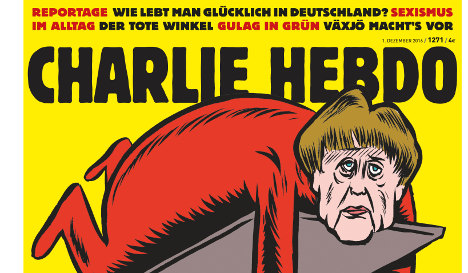 Guess who Charlie Hebdo mocks in first German edition