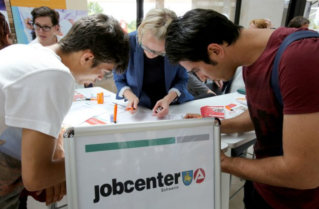 So far, only 34,000 refugees have found jobs in Germany
