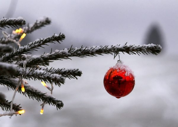 This is how likely a white Christmas is in Germany
