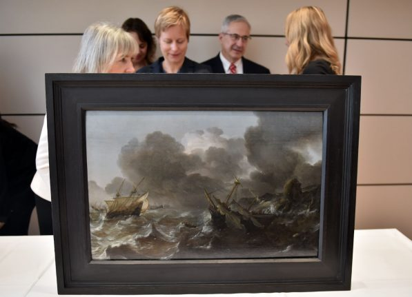 Two paintings taken by Nazis returned to beneficiaries in Canada