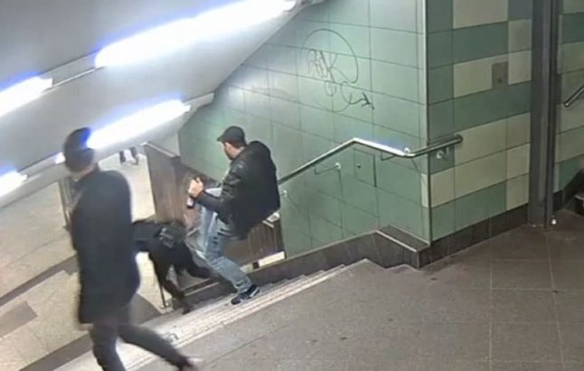 Why the Berlin U-Bahn attack video has gone viral
