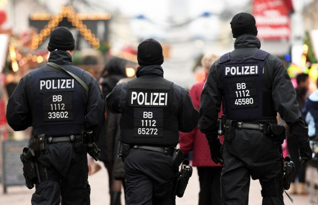 Berlin police angrily reject claim they assaulted terror suspect