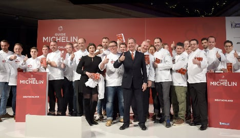 Germany gains record number of Michelin-star restaurants