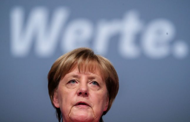 Five things we learned about Merkel from her conference speech