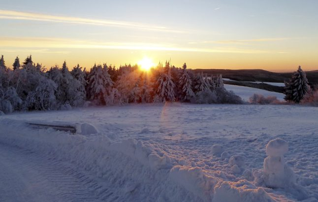 Germany shivers in coldest winter night so far