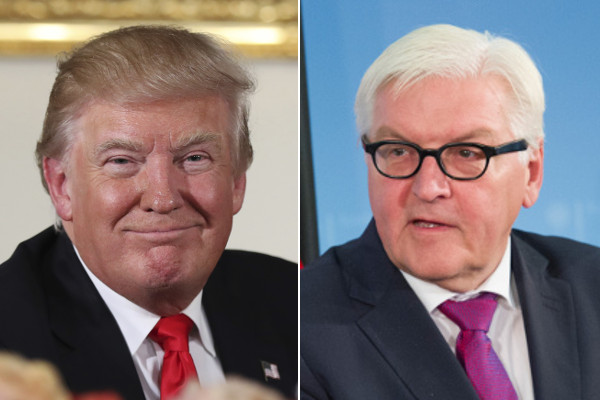 Top German presidential pick blasts Trump's role in divided US