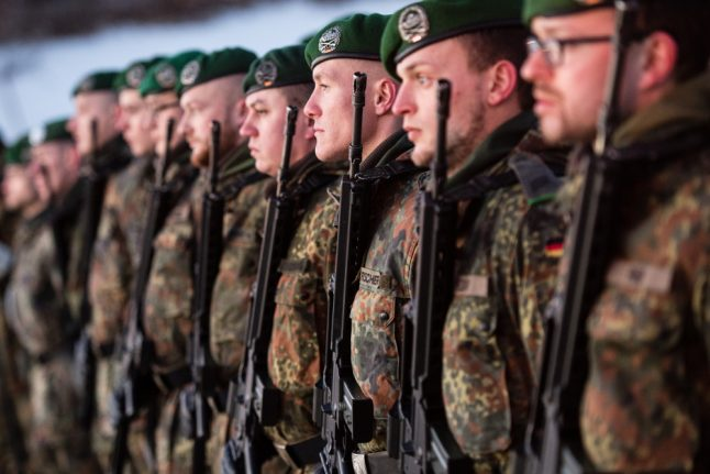 German troops land in Lithuania amid Russia fears