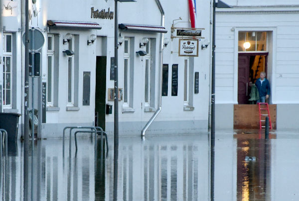 IN PICS: the aftermath of worst flood in decade on Baltic coast