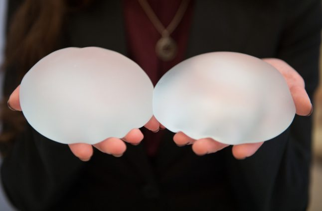 German safety inspectors told to pay millions to women who had faulty breast implants