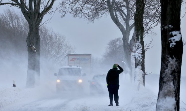 Storm Egon leaves two dead, thousands without power