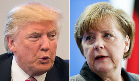 Trump: Merkel made 'catastrophic mistake' on refugee policy