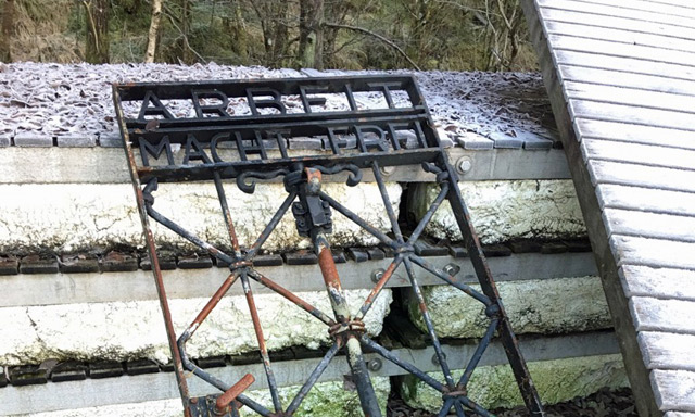 Police have no idea how stolen Dachau camp gate turned up in Norway