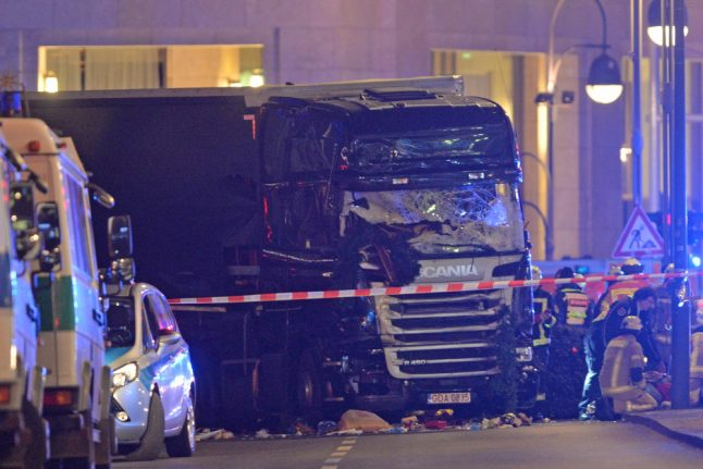 Truck used in Berlin Christmas market attack could go to museum