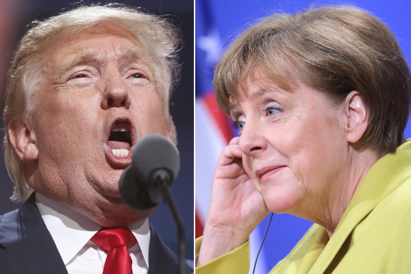 Trump to hold first presidential phone call with Merkel