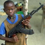 How German guns often end up in child soldiers' hands