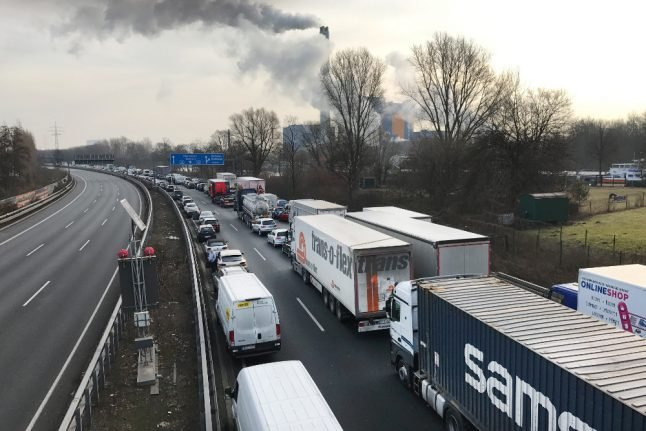 150 hit by respiratory problems as 'toxic cloud' looms over Ruhr valley city