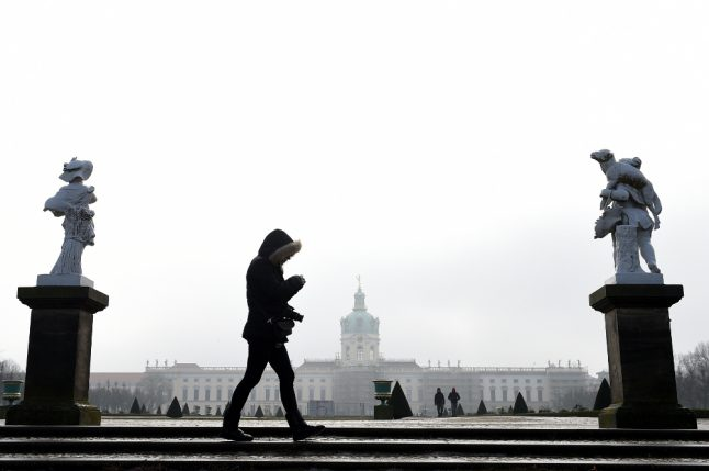 Russian cold front heading for Berlin with temperatures down to -10C