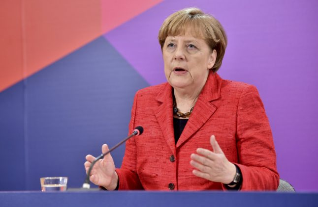 Merkel says Europe's future could be two-speed
