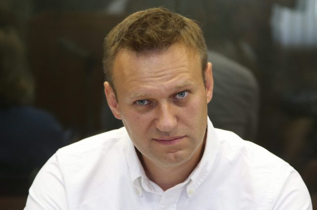 Germany voices 'concern' over Russia's conviction of opposition leader