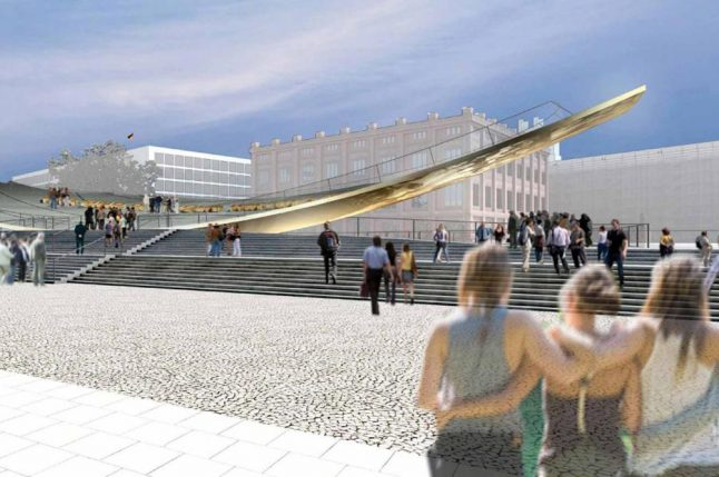 German Unity 'seesaw' monument to be resurrected in Berlin