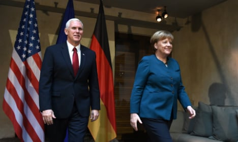 'US will always be your greatest ally,' Pence tells Europe