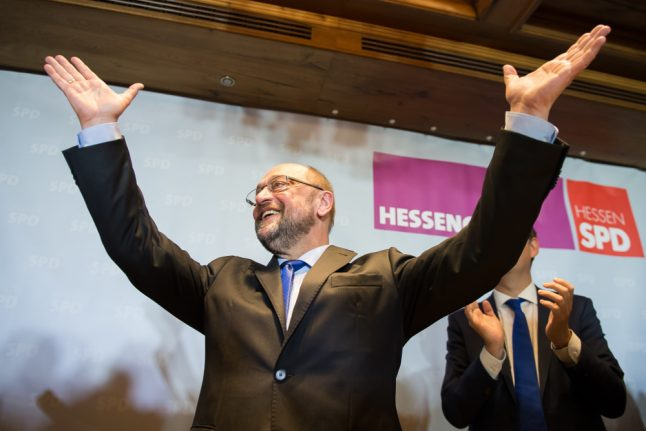 Social Democrats leap ahead of Merkel's party in new poll
