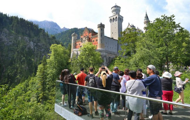 More tourists than ever before travelling to Bavaria, figures show