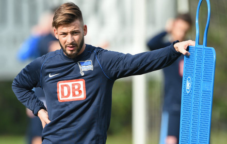 Hertha star taking legal action over AfD Twitter pic