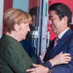 Merkel calls for free trade with Japan after meeting with Trump