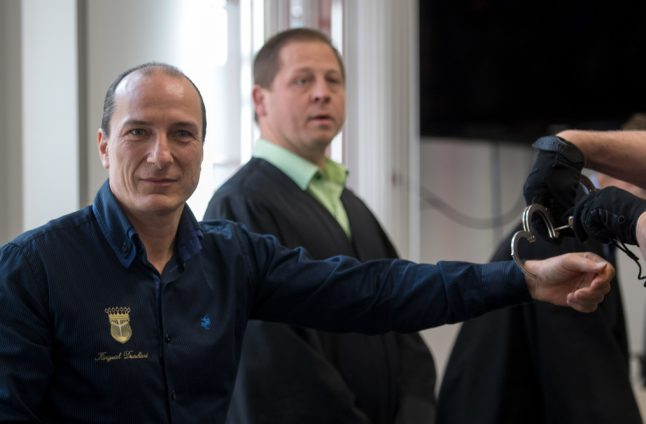Self-proclaimed 'King of Germany' jailed for embezzling €1 million