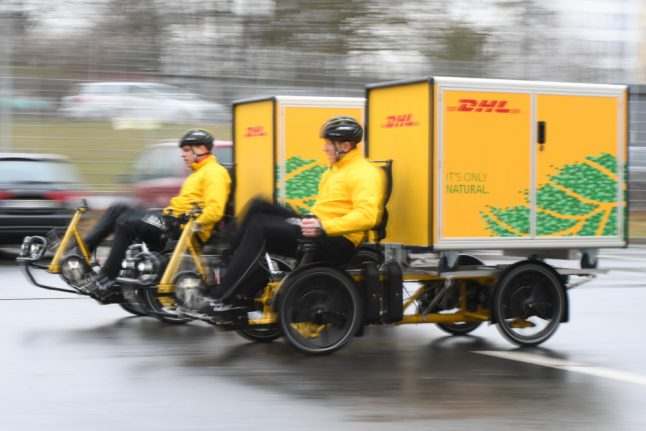 German post service tests out new deliveries by 'cargo bike'