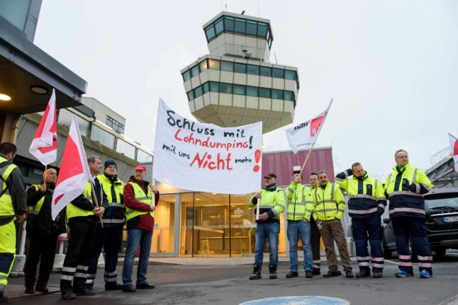 Hundreds of flights cancelled as strike starts at Berlin airports