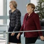 Merkel rejects May's call for parallel talks on EU-UK ties
