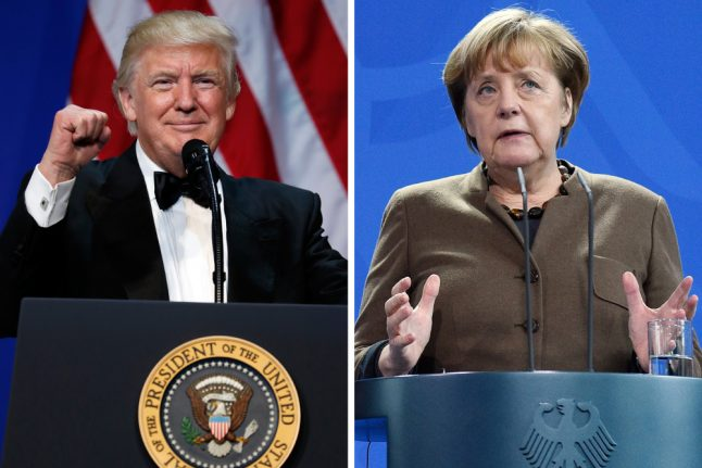 Meeting with Trump to be 'one of Merkel's most important'