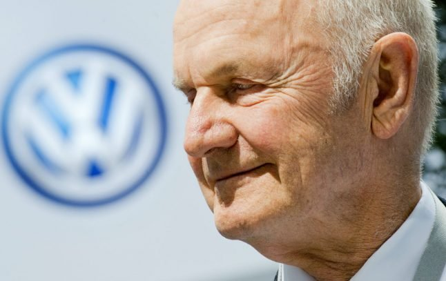 Former VW chairman sells most of shares after family fall-out