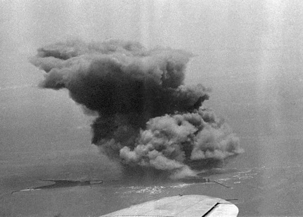 How Britain blew up Germany's most remote island 70 years ago