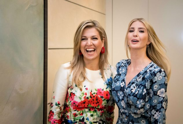Ivanka Trump forced to defend father at Berlin women's summit