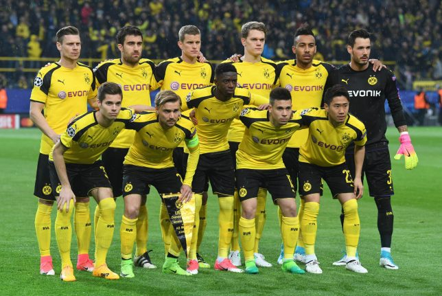 Dortmund team treated as if 'beer can' thrown at bus, rages coach
