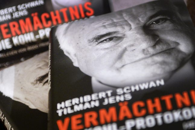 Ex-chancellor Kohl wins €1 million in legal battle with ghostwriters