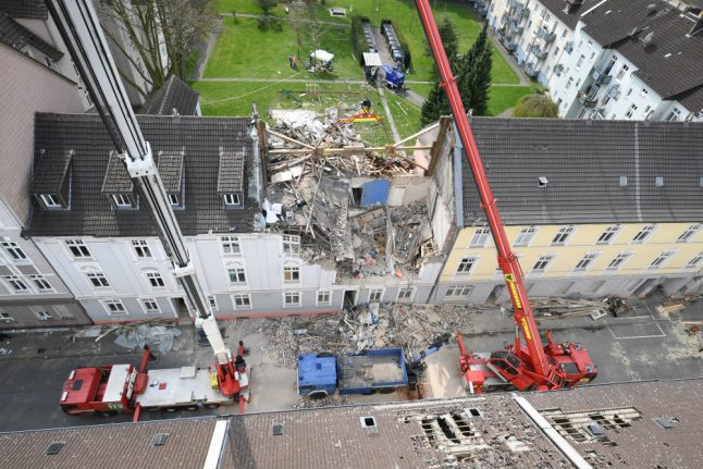 Dortmund woman dies after neighbour 'deliberately blows up building'