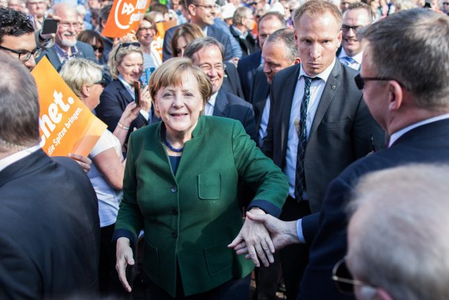 Merkel's party faces election dry run in bellwether state