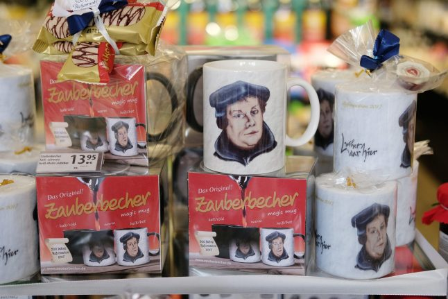 How 'Luther town' is cashing in on the Protestant Reformation