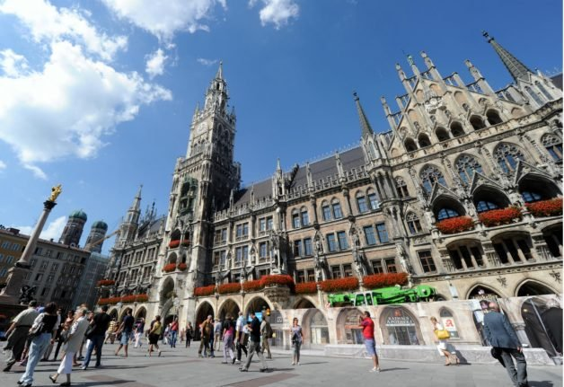 Man dies after setting himself on fire in Munich's central square